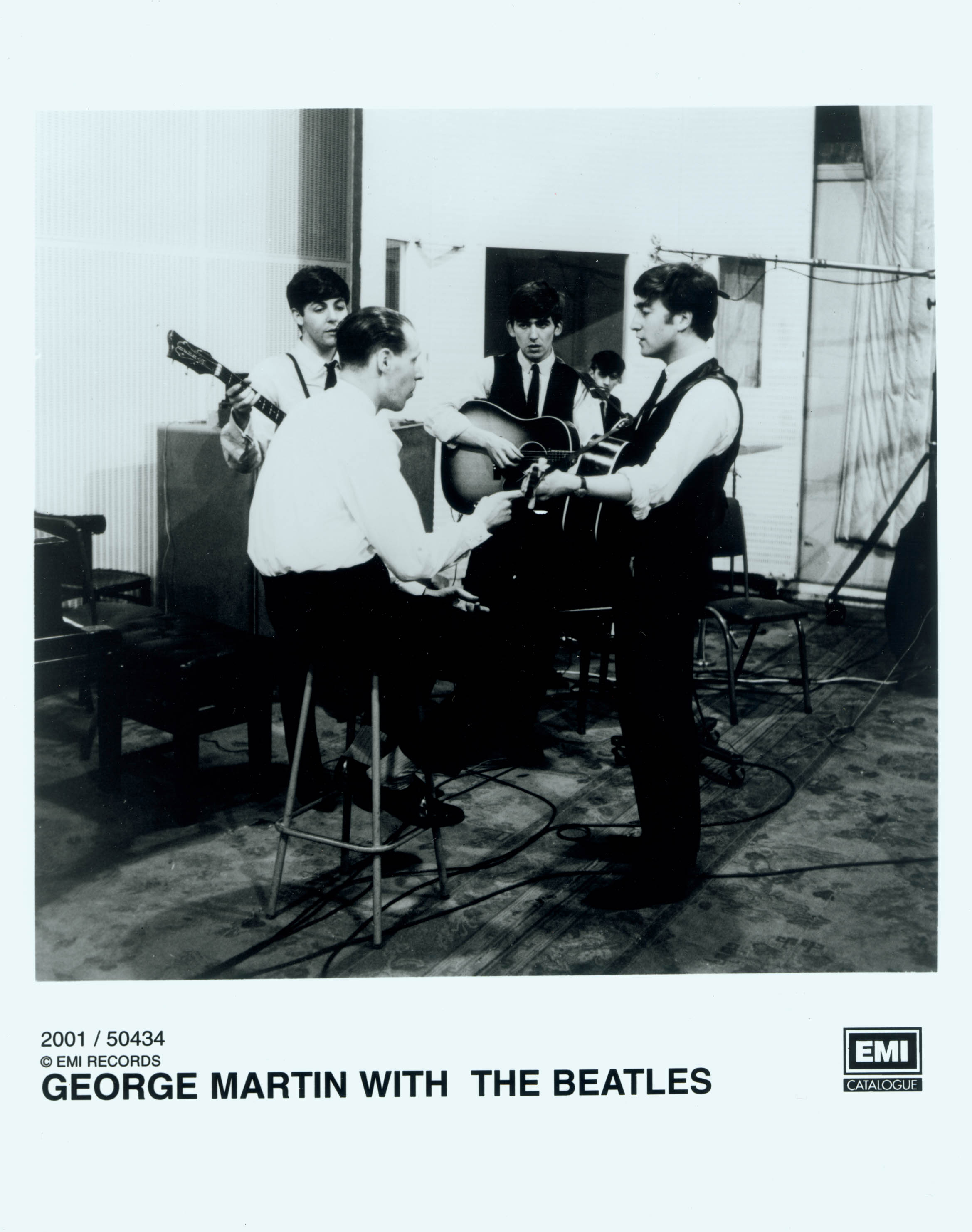 george-martin-and-beatles