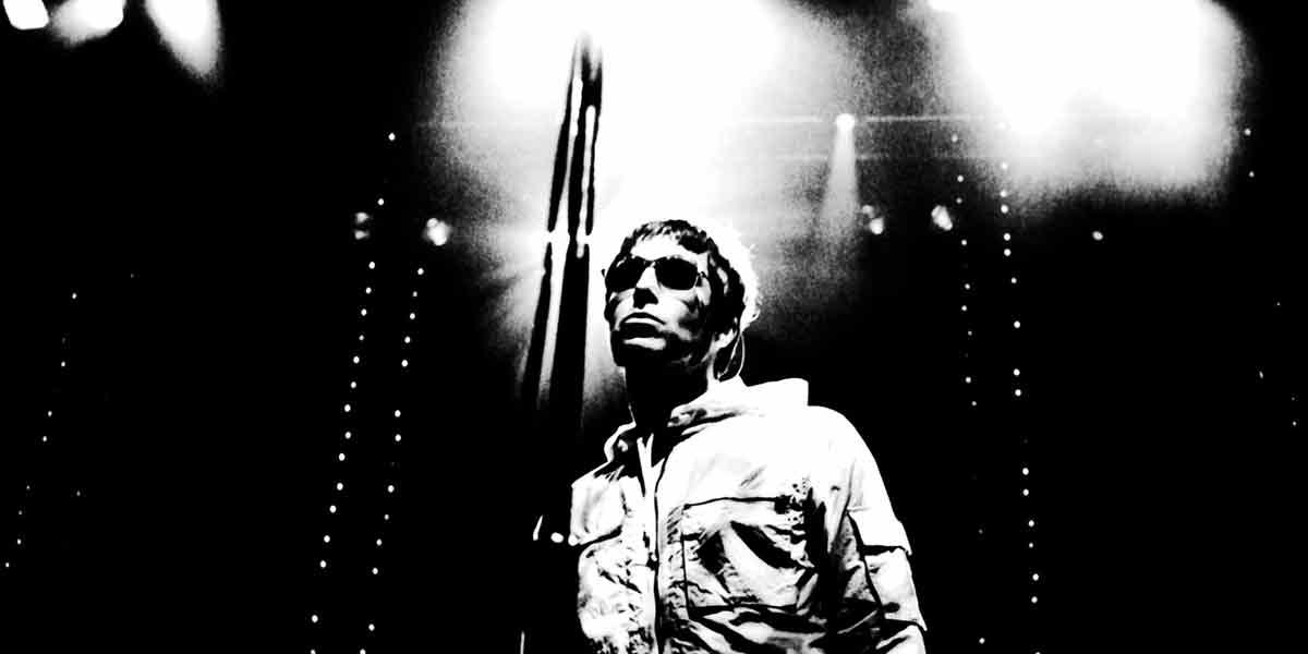 Liam Gallagher, Frontmann von Oasis