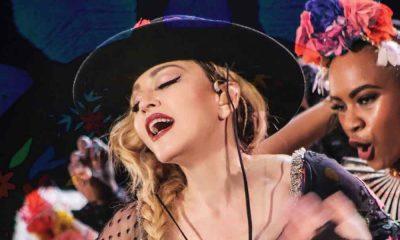Madonna bei der Rebel Heart Tour