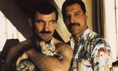 Freddie Mercury und Jim Hutton