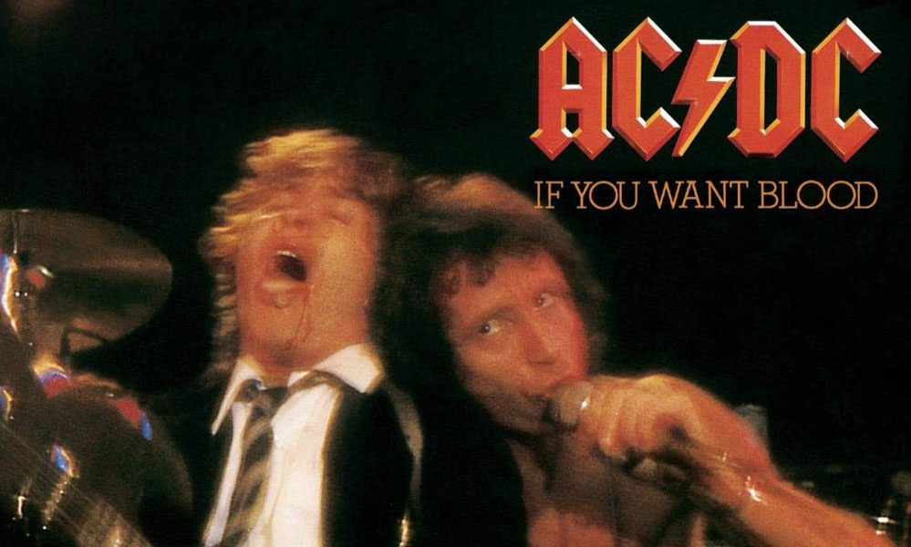 AC/DC If You Want Blood You've Got It Cover