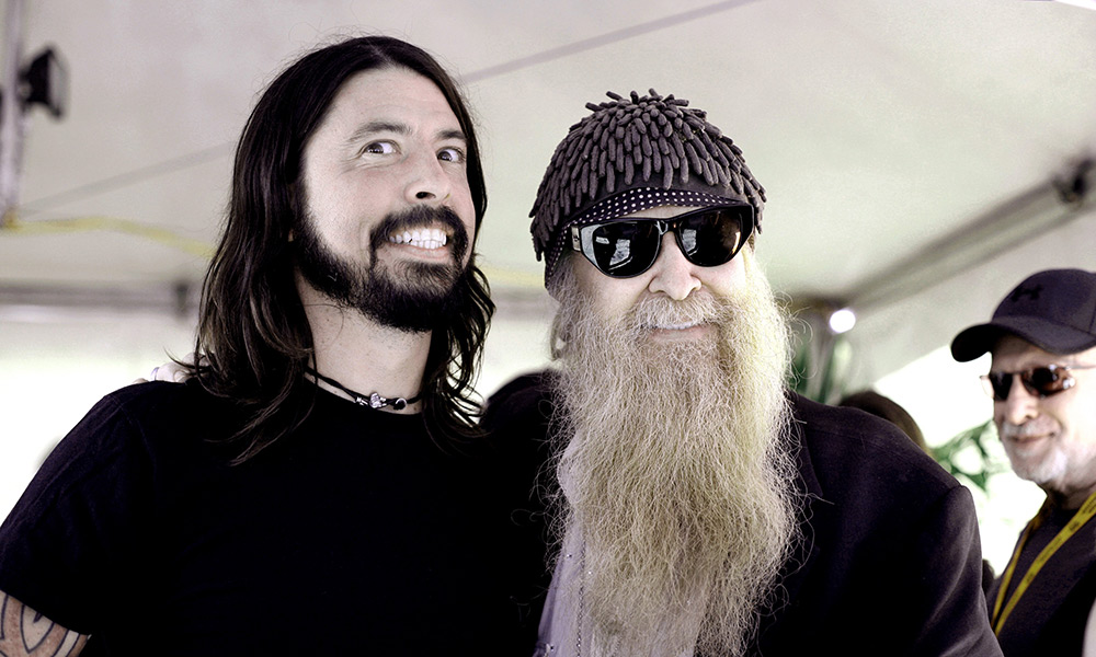 Dave Grohl & Billy Gibbons