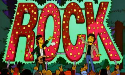 Rolling Stones bei den Simpsons