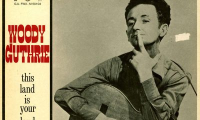 Woodie Guthrie This Land Is Your Land Cover