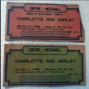 Iron Maiden Empire Ticket