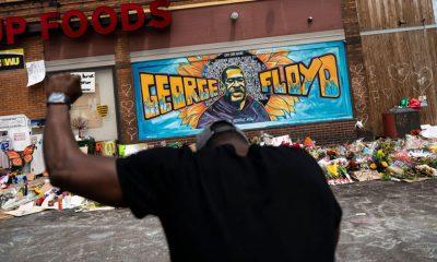 Gedenkstätte für George Floyd