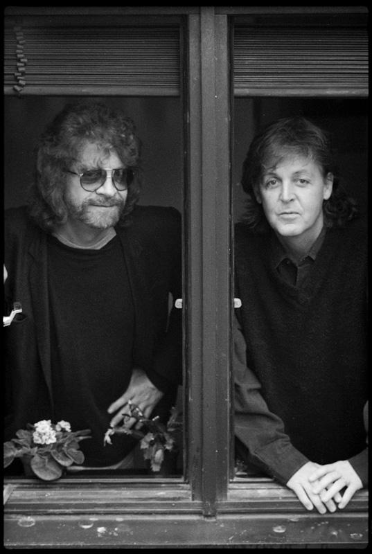 Paul McCartney & Jeff Lynne