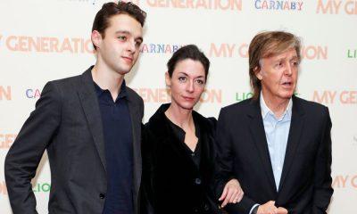 Mary McCartney, Paul McCartney & Arthur Donald