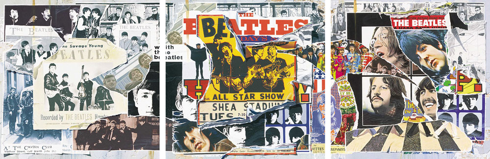 The Beatles Anthology Cover