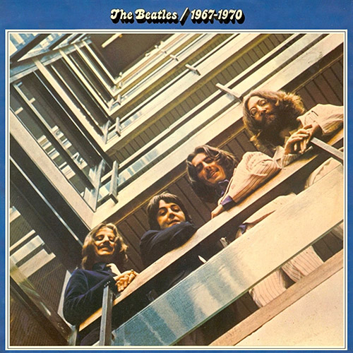 The Beatles Blue Cover