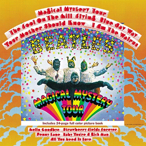 The Beatles Magical Mystery Tour Cover