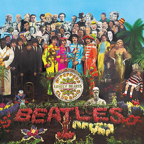 Beatles Sgt. Pepper's Lonely Hearts Club Band Cover