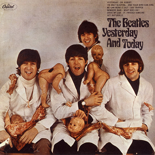 The Beatles Yesterday And Today Cover