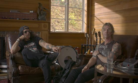 "Slash & Duff McKeagan in ""What Drives Us"""