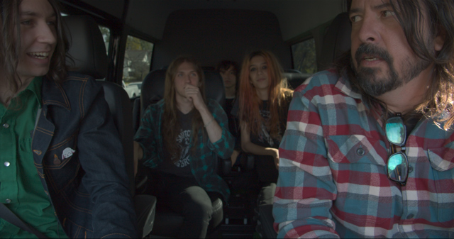 """Starcrawler & Dave Grohl in """"What Drives Us"""""""