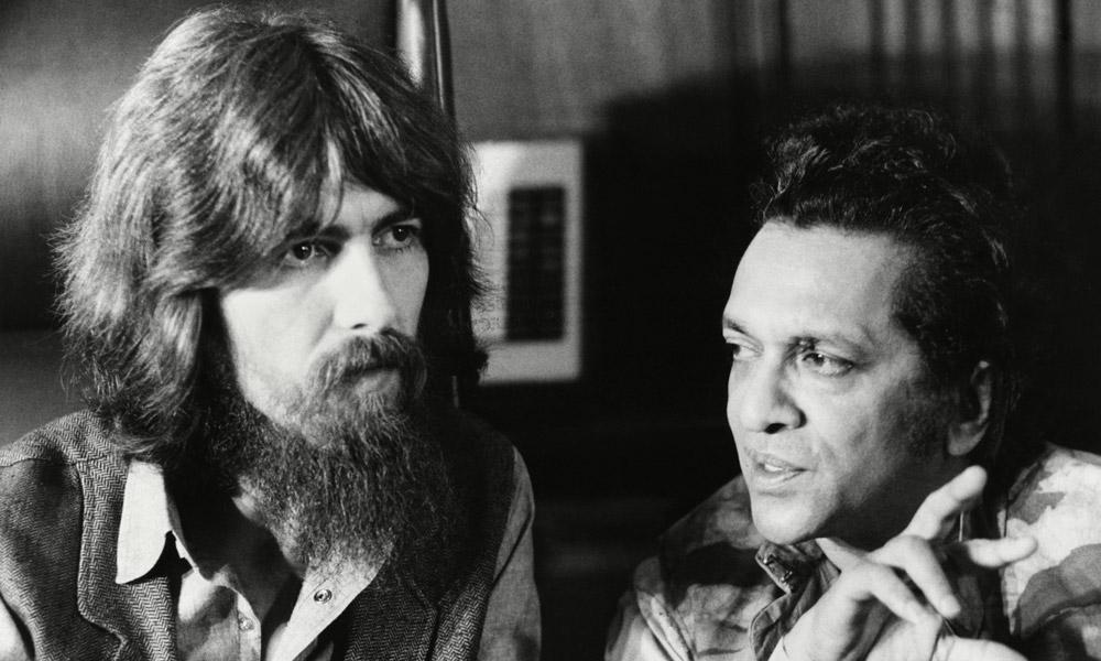 George Harrison und Ravi Shankar