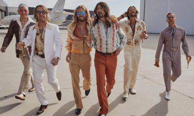 Foo Fighters als Dee Gees