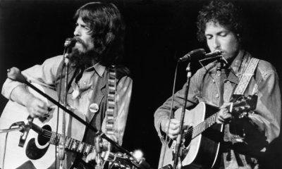 George Harrison und Bob Dylan