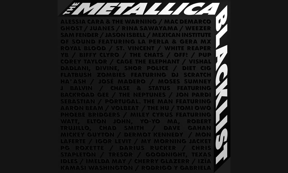 The Metallica Blacklist Cover
