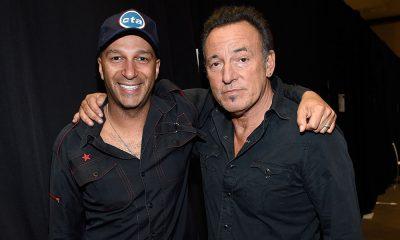 Tom Morello und Bruce Springsteen