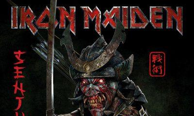 Iron Maiden Senjutsu Album Cover